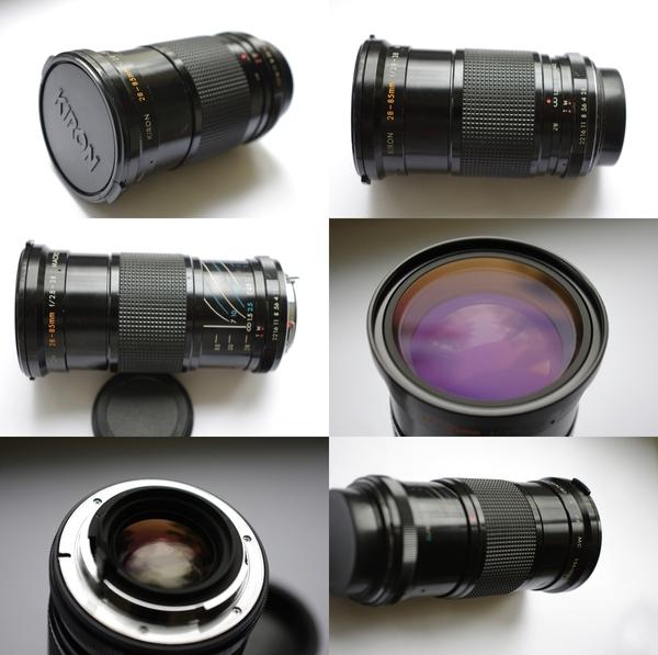 Kiron 28 85mm f2 8 3 8 pentax k mount