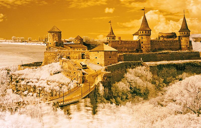 Замок в инфракрасном спектре